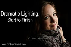 ... i'm SO going to attempt this weekend ... Dramatic Lighting: From Start to Finish