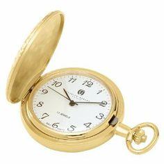 Charles Hubert 3842 Gold-Plated Mechanical Pocket Watch Charles-Hubert, Paris. $89.99