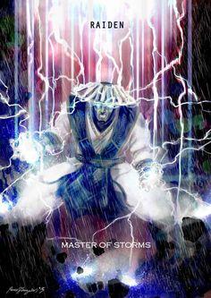 Mortal kombat x Raiden..Master of storms by Grapiqkad on DeviantArt