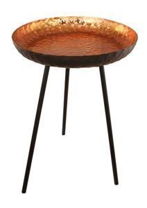 Kuvahaun tulos haulle copper sidetable