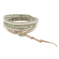 Diani Wrap Bracelet – Laurier Blanc | Unique Home Decor From Around The World