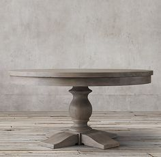 Priory Round Dining Table Restoration Hardware Possible dining room table - we need one that extends to seat 8 Large Round Dining Table, Grey Dining Tables, Oval Table, Dining Table Design, Round Kitchen Tables, Round Dining Tables, Pedestal Tables, Dining Area, Decoration