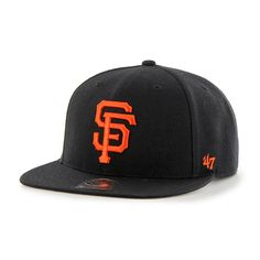 San Francisco Giants No Shot Captain Black 47 Brand YOUTH Hat