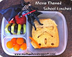 Fun & Healthy Back To School Lunch Ideas!