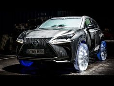 Lexus NX Gets Outfitted With Wheels Made Out Of Ice