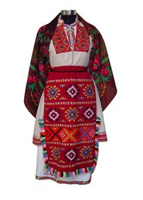 Bulgarian Folk Costume from Thracia region