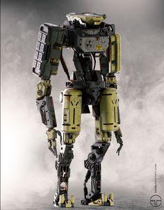 Robot_Concept , Rafael Amarante on ArtStation at https://www.artstation.com/artwork/QYxRx