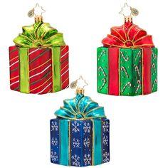 Radko Precious Presents Ornament - Assorted Styles