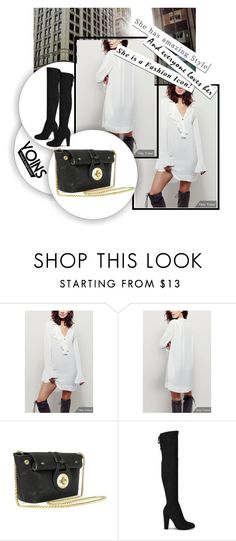 """""""YOINS 5/10-3"""" by melisa-hasic ❤ liked on Polyvore featuring women's clothing, women, female, woman, misses, juniors, yoins and loveyoins"""