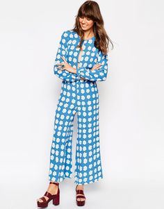 I know I can pull this off. ASOS x Jackie Jumpsuit in Daisy Print