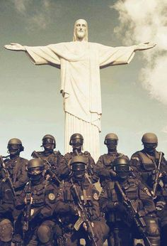 .Brazilian Police Special Forces (BOPE/PMERJ)