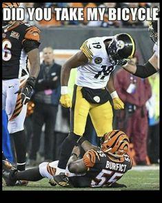 229c05355 #19 JuJu Smith-Schuster #Pittsburgh Steelers #sportsmemes Pittsburgh Steelers  Football, Steelers