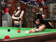 Billiards Queen by a821618628