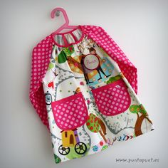 bata escolar y set escolar artesanal personalizado 2015 punt a punt-031 Diaper Bag, Lunch Box, Crafts, Owl, Fashion, Sewing Projects, Fabric Dolls, Dresses For Girls, Clothes For Girls