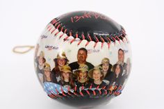 Personalized baseball, great gift for sports fan. Get yours at http://www.makeaball.com/