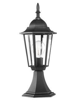 Lima Pedestal, Outdoor Lights, Gloco - & Home Lighting Home Lighting, Outdoor Lighting, Pedestal, Glass And Aluminium, Traditional Lighting, Wall Lantern, Light Up, Lanterns, Bulb