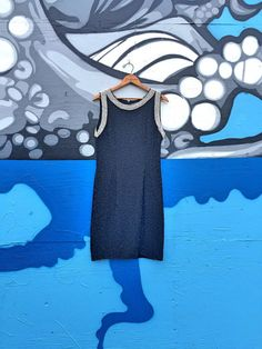 A.J Bari High Fashion Dress / Black and White by EpochTradingPost