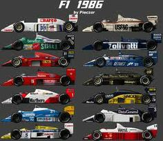 1986 f1 cars - Google Search