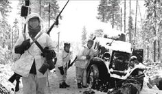 Finnish soldiers after attacking a Russian column. Pin by Paolo Marzioli