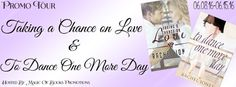 Rachel Jones author of Taking A Chance on Love & To Dance One More Day