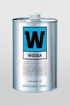 Wodqa Premium Vodka aus Deutschland PD