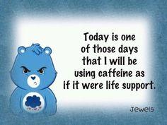 Grumpy Care Bear!