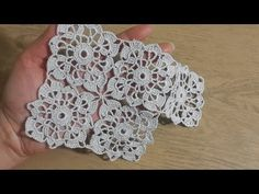 Crochet Knit Square Lace Motif made, Mantel y Ganchillo - Crochet Yoke, Crochet Motifs, Crochet Square Patterns, Crochet Diagram, Crochet Squares, Irish Crochet, Crochet Doilies, Crochet Flowers, Crochet Stitches