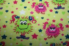 Bio-Interlock * Kleine Monstermädchen * Monster Sterne Stars Kinder Stoff