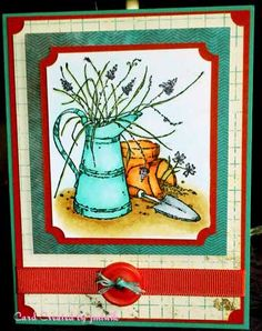 Long Time Friend by jmhutnik - Cards and Paper Crafts at Splitcoaststampers Spinner Card, Long Time Friends, Milk Cans, Stamp Sets, Color Card, Flower Cards, Cute Cards, Country Life, Stampin Up Cards