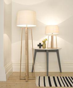 Copenhagen Table Lamp in Teak | Lamps | Lighting