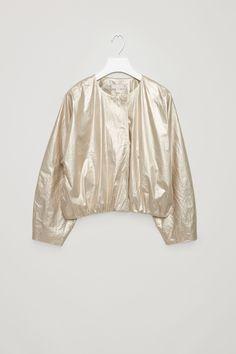 COS | Metallic coated cotton jacket