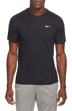 NIKE 'Miler' Dri-Fit Uv Protection T-Shirt. #nike #cloth #