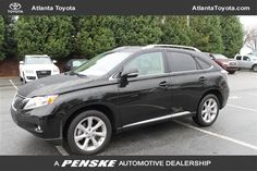 Vehicle Spotlight, 2011 Lexus RX 350: Atlanta Toyota Blog