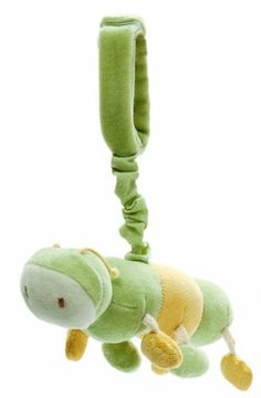 miyim plush stroller toy calvin the caterpillar by miyim httpwww