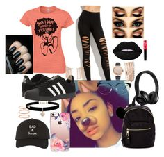 """""""Untitled #173"""" by panther-bear ❤ liked on Polyvore featuring Madden Girl, adidas, Casetify, Betsey Johnson, Accessorize, Jessica Carlyle, Bloomingdale's and Lime Crime"""
