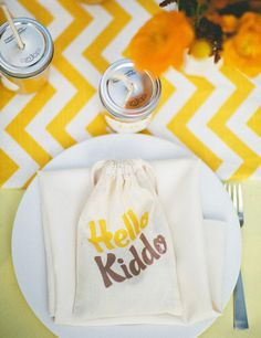 Take a look at our colorful yellow baby room. Get more decorating ideas at http://www.CreativeBabyBedding.com