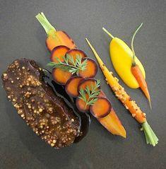@stationroadlochness - Up Close - Ox Cheek, Carrot, Mustard #chefsplateform #soignefood #chefstoday #discoveringchefs #culinaireinspiratie…