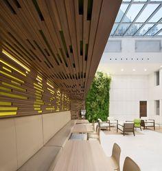 Color usage Hogan Lovells Office Design by Studios Architecture