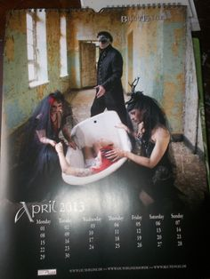 another reason to love April <3 Blutengel <3