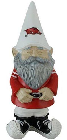 Arkansas Razorbacks gnome