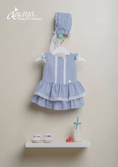STREET P/V 2017 Frilly Dresses, Girls Dresses, Summer Dresses, Baby Sister, Kids Wear, Baby Dress, Kids Outfits, Kids Fashion, Children