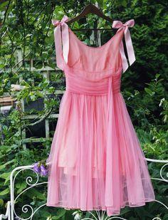 vintage dress DIY project
