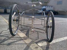 cargo bike plans | Fail: a full tilting 3-wheeled cargo bike