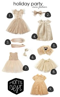 Holiday fashion #metallic #kids