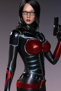 Baroness by hitmanwa.deviantart.com on @DeviantArt