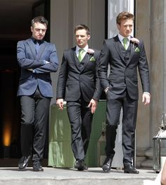 Harry Judd and Dougie Poynter- suit perfection