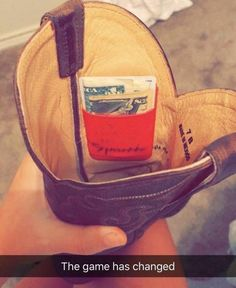 College Girl Goes Viral With Her Redneck Genius Cowboy Boot Wallet