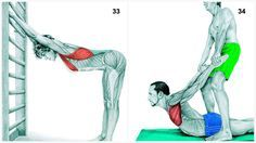 Just realized I had been doing the stretches wrongly...