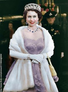Queen Elizabeth Coronation Photograph 1954 My Favourite