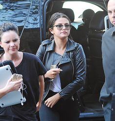 May 3: Selena arriving at her hotel in New York City, New York